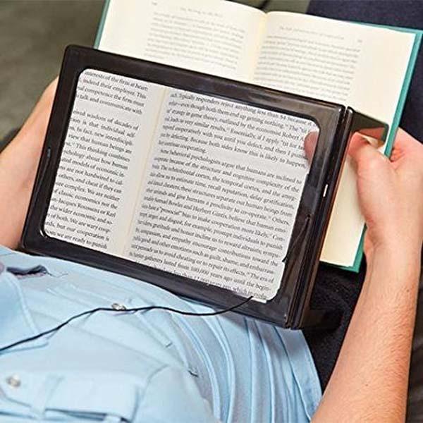 valaistu lukulevy lukemiseen