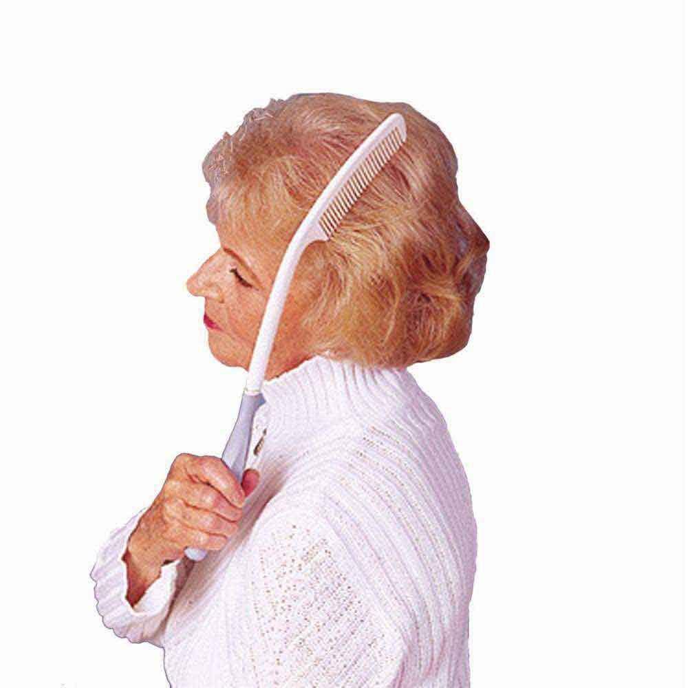 Pitkävartinen kampa auttaa kankeita käsiä