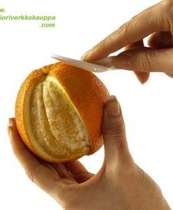 Sitruskuorija auki